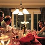Family dinner Photo by Steve Natale edit