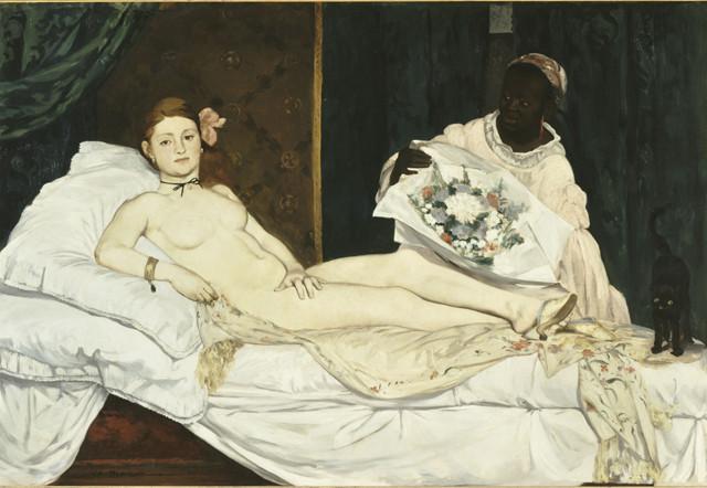 douard Manet Olympia 1863 olio su tela, 130x190 cm Parigi, Musée d'Orsay