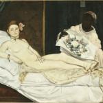douard Manet Olympia 1863 olio su tela, 130x190 cm Parigi, Musée d'Orsay - Donata allo Stato nel 1890 grazie a una sottoscrizione voluta da Claude Monet © Musée d'Orsay, Dist. RMN-Grand Palais / Patrice Schmidt