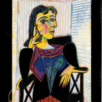 Pablo Picasso Portrait de Dora Maar 1937 Olio su tela, cm 92 x 65 - Masterpiece from the Musée National Picasso Paris to be held at Palazzo Reale in Milan from September  2012 to January 2013  © Succession Picasso by SIAE 2012