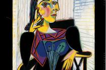 Pablo Picasso Portrait de Dora Maar 1937 Olio su tela, cm 92 x 65
