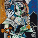 Pablo Picasso Le matador  4 ottobre 1970 Olio su tela, cm 145,5 x 114 - Masterpiece from the Musée National Picasso Paris to be held at Palazzo Reale in Milan from September  2012 to January 2013  © Succession Picasso by SIAE 2012