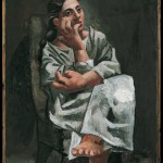 Pablo Picasso Femme assise 1920 Olio su tela, cm 92 x 65 - Masterpiece from the Musée National Picasso Paris to be held at Palazzo Reale in Milan from September  2012 to January 2013  © Succession Picasso by SIAE 2012