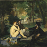 douard Manet Le Déjeuner sur l'herbe (Colazione sull'erba) 1863 circa olio su tela, 89x116cm - Londra, Courtauld Institute Galleries © The Samuel Courtauld Trust © The Samuel Courtauld Trust