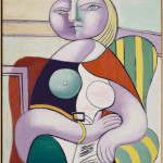 Pablo Picasso La Lecture 2 gennaio 1932 Olio su tela, cm 130 x 97,5 - Masterpiece from the Musée National Picasso Paris to be held at Palazzo Reale in Milan from September  2012 to January 2013  © Succession Picasso by SIAE 2012