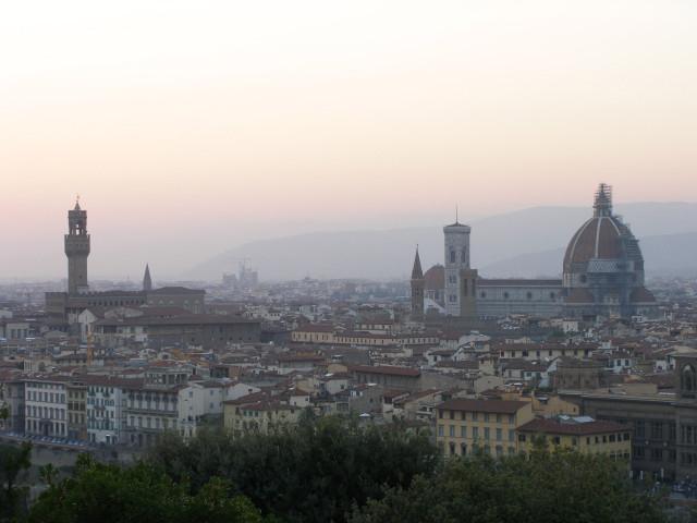 Centro storico dal piazzale Michelangelo