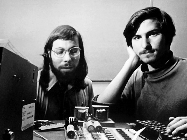 Woz e Steve - Apple-1