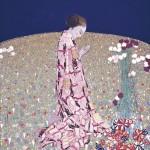 Adolfo Wildt - 2.Felice Casorati, La preghiera, 1914, tempera su fustagno, cm. 130x120. Verona, Galleria d'Arte Moderna di Palazzo Forti