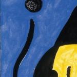 Joan Miró - Senza Titolo, 1978 Olio su tela, 92 x 73 cm Fundació Pilar i Joan Miró, Mallorca © Succe - Foto: © Joan Ramón Bonet & David Bonet / Cortesía Archivo Fundació Pilar i Joan Miró a mallorca
