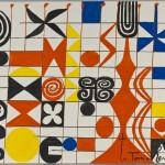 I Giganti dell'Avanguardia - Alexander Calder: Senza titolo, 1971 Guazzo su carta 74,6 x 110,1 cm Fondazione Solomon R. Guggenheim, New York