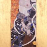 Gustav Klimt Salomé (Giuditta II), 1909 Olio su tela 178 x 46 cm. Venezia, Ca' Pesaro - Galleria Internazionale d'Arte Moderna ©Archivio fotografico Fondazione Musei Civici di Venezia 2012