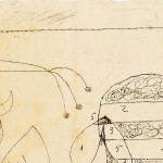 Joan Miró Sketch for Harkness Commons, Harvard University 1950 Inchiostro e matita su carta, 26,8 x - Foto: © Joan Ramón Bonet & David Bonet / Cortesía Archivo Fundació Pilar i Joan Miró a Mallorca