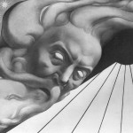 Adolfo Wildt - 5.Adolfo Wildt, Luminaria, 1925, matita e carbone su carta, cm. 90x131. Milano, Courtesy of Galleria Daniela Balzaretti