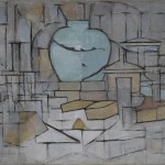 I Giganti dell'Avanguardia - 5.Piet Mondrian: Natura morta con vaso II ), 1911-12 Olio su tela 91,5 x 120 cm Museo Solomon R. Guggenheim Museum, New York