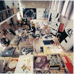 Interno dell'atelier di Joan Miró, disegnato da Josep Lluís Sert,, 1973. © Photographic Archive F. C - Foto di Francesc Català-Roca
