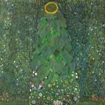 Gustav Klimt Girasole, 1907 Olio su tela, 110 x 110 cm - collezione privata. © Belvedere, Vienna