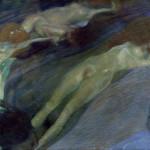 Gustav Klimt Acqua in movimento, 1898 Olio su tela, 52 × 65 cm - Galerie St. Etienne, New York