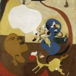 I Giganti dell'Avanguardia - 7.Joan Miró: Interno olandese II, 1928 Olio su tela, 92 x 73 cm Collezione Peggy Guggenheim, Venezia