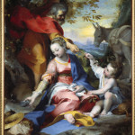 Federico Barocci (1535-1612) Rest on the Flight into Egypt, about 1570-73 Oil on canvas 133 x 110 cm - S0077934 Rest on the Flight into Egypt. Before 1573. Oil on canvas, 133 x 110 cm.  Image licenced to Jason Gray Saint Louis Art Museum by Jason Gray Usage :  - 3000 X 3000 pixels (Letter Size, A4)  © Scala / Art Resource
