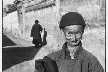 CHINA. Beijing. December 1948. A eunuch of the Imperial court of the last dynasty.