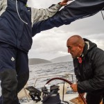 Photo by Paula Sweet - Raising the sail