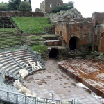 Ancient  Greek Theatre in Taormina - Photo by Margie Miklas