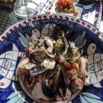 Photo by Paula Sweet - Seafood salad La Spiaggia