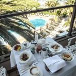 Photo by Paula Sweet - Breakfast on  balcony Cala del Porto