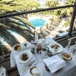 Photo by Paula Sweet - Breakfast on  balcony Cala del Porto