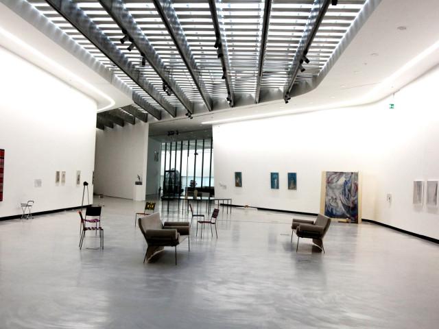 The maxxi museum in rome the artwork of elisabetta benassi for Interior design roma