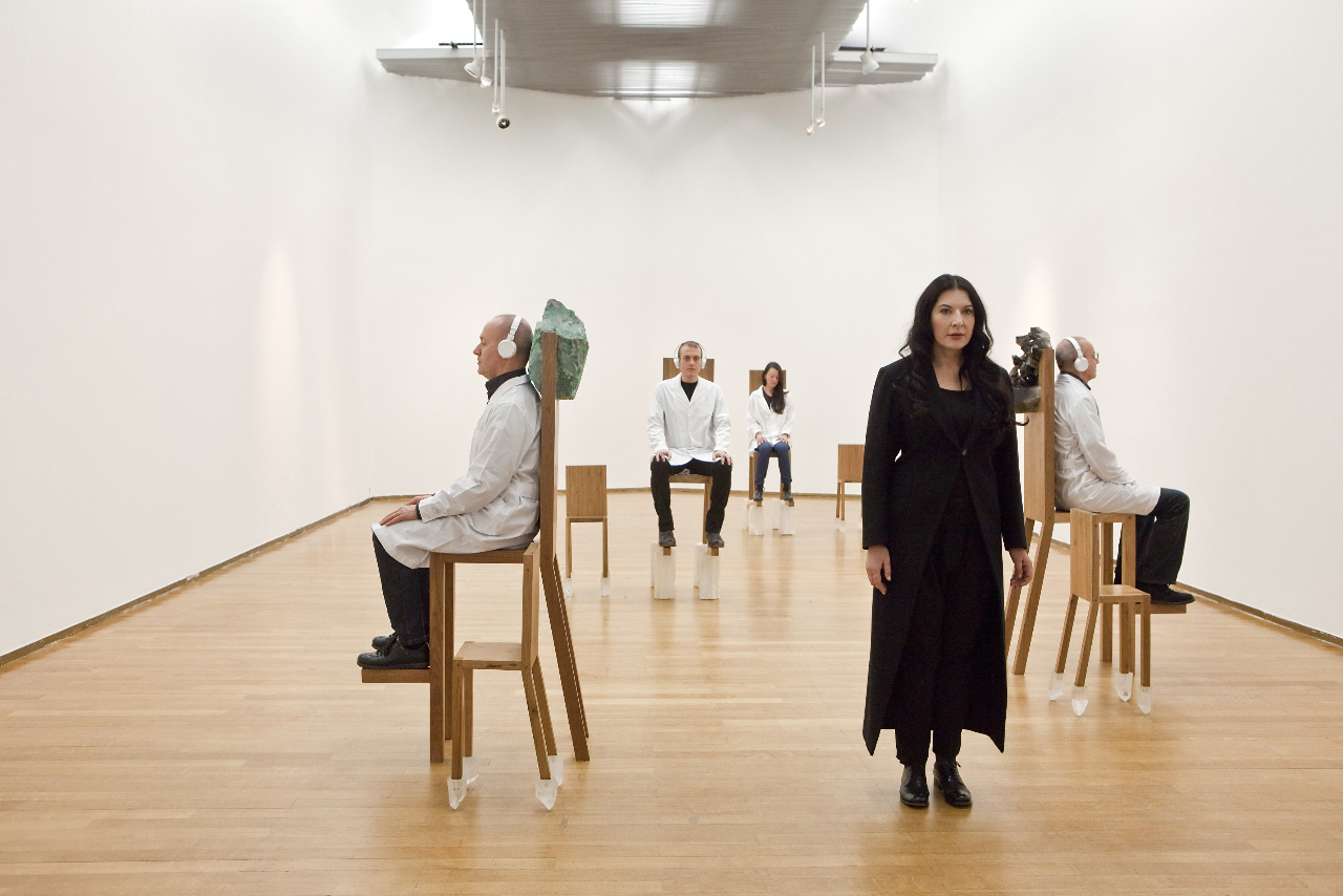 Marina abramovic in the new yorker presents 20152016 - 2 4