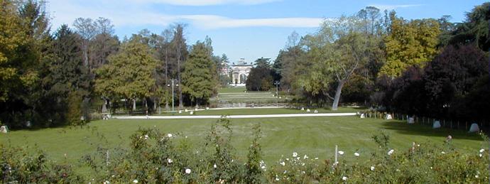 I parchi e giardini pi belli a milano for Decorazione giardini stile 700