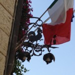 Rooster & Italian Flag