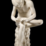 Spinario, Arte romana. Fotografia di Carlo Vannini. Su concessione del Ministero