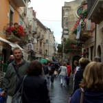 Corso Umberto in Taormina - Photo by Margie Miklas