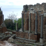 Ancient  Greek Theatre in Taormina - Photo by Margie Miklas