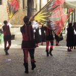 Flag Throwers in Vicenza - Photo by Paula Sweet