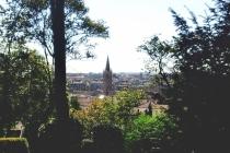 Panorama giardino superiore