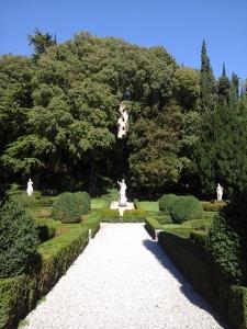 vista giardino superiore