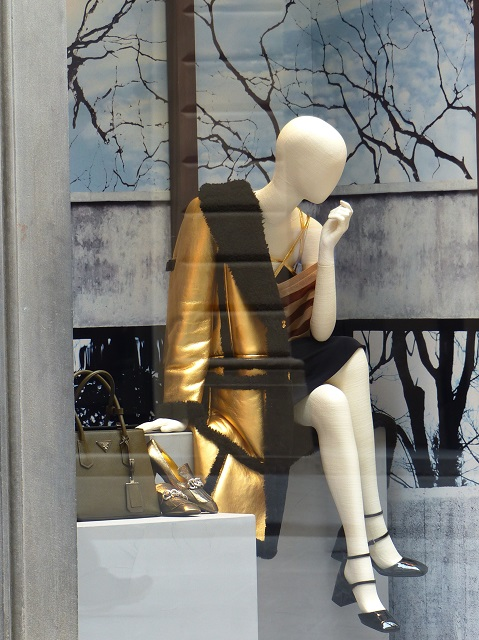 Prada Window  Photo by Debra Kolkka