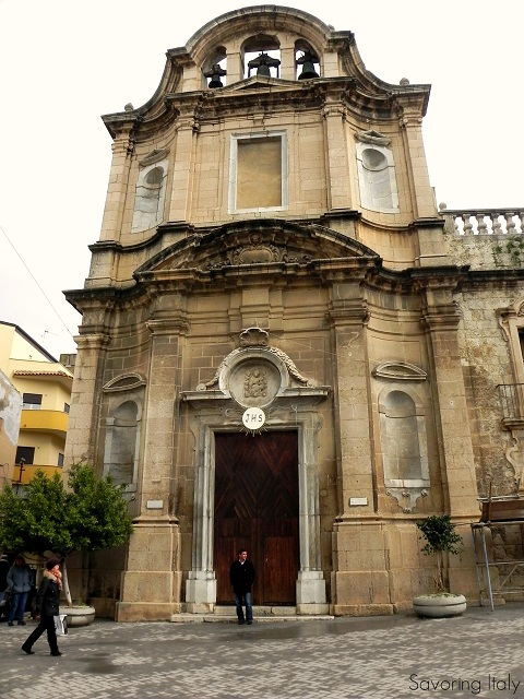 Chiesa madre in Licata Photo by Lora from Savoring Italy
