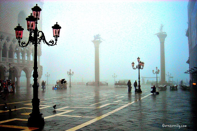 Photo by Orna O'Reilley Venice in the Fog