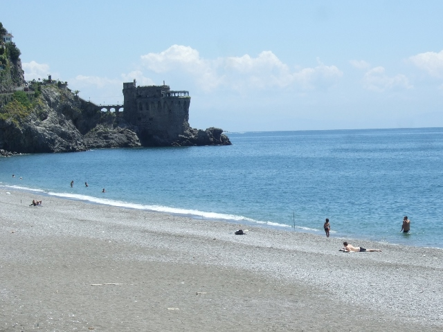 Beach at Maiori on the Amalfi Coast of Italy - Photo by Margie Miklas