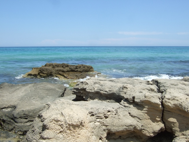 Beach near Ostuni in Puglia - Photo by Margie Miklas