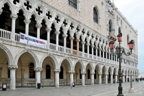 Doge's Palace in Venice Photo by Dennis Jarvis