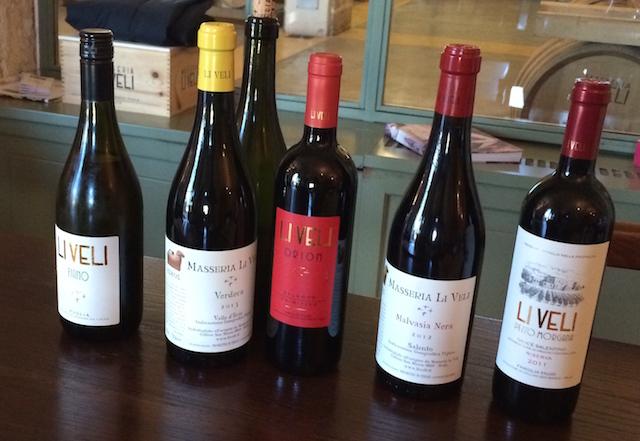 LiVeli 9 Wine tasting