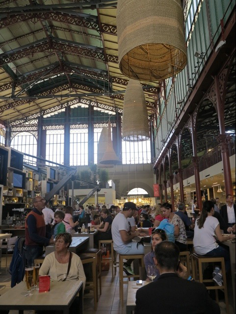 Upstairs in the market Florence
