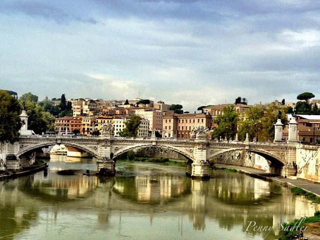 Rome bridge  Photo by Penny Sadler