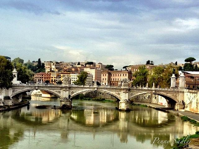 Rome bridge  Photo by Penny Sadler