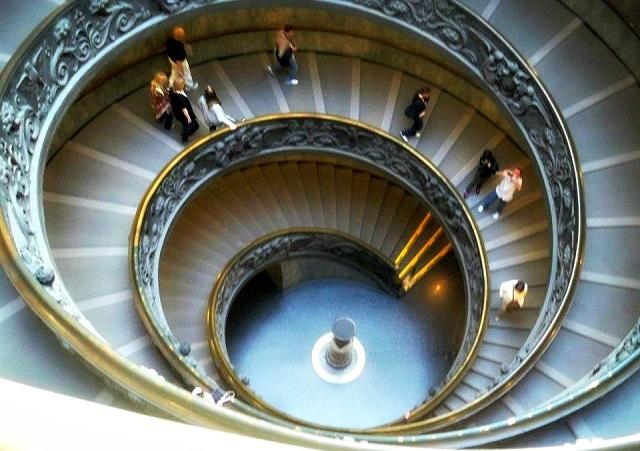 vatican staircase Lisa Condie